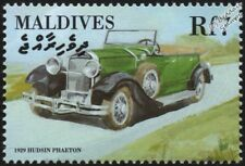 1929 HUDSON Super 6 Dual-Cowl Phaeton Mint Automobile Car Stamp (2000 Maldives)