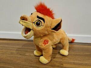 Disney The Lion Guard Kion Talking Push 35cm Tall Soft Stuffed Toy The Lion King