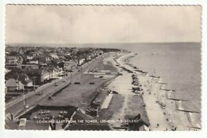 A Valentine's RP Postcard of Looking East From The Tower, Lee-On-The-Solent.