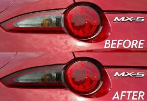 Light Smoke Turn Signal Tail Light Overlay for 2015+ Miata MX5