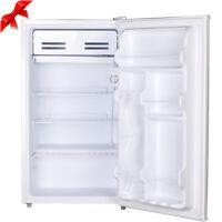 Smad 3.3 Cuft Single Door Mini Fridge Small Compact Freezer Kitchen Refrigerator