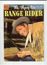 Dell FLYING A'S RANGE RIDER #9 March-May 1955 vintage western comic