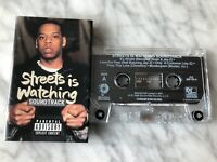 Streets Is Watching Soundtrack Cassette Tape 1998 Roc-A-Fella Jay-Z RARE! OOP!