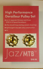 Gold Derailleur Pulley Set Upgrade for Shimano & Sram 9/10 Speed Derailleurs