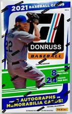 2021 Panini Donruss Baseball Hobby Box - 24 Packs