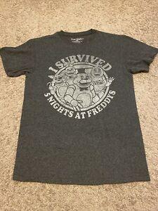 Five Nights at Freddy's Tshirt Grey size small