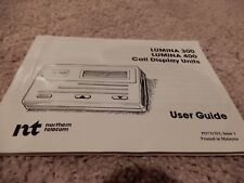 Northern Telecom Lumina Caller Id Display Units Models 300 400 Users Guide