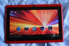 Red Softwiner Evb Android 7 Inch 4GB Tablet