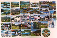 ÖSTERREICH Postkarten Sammlung 28 color Ansichtskarten Sonderformate gelaufen