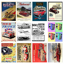 Cars, Retro Metal Signs/Plaques Man Cave, Cool Novelty Gift 4