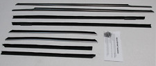 1961-1962 Cadillac Convertible Repops Window Felt Weatherstrip Kit 8pc Fuzzies
