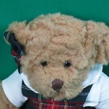 Plaid Schoolgirl Outfit Russ Berrie Ellington Teddy Plush Stuffed Animal Bear