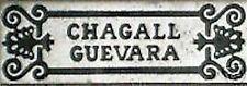 VINTAGE CHAGALL GUEVARA METAL PIN BADGE