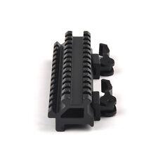 Quick Detach 20mm Picatinny Rail Riser QD Mount&Side 45 Degree Rail for Hunting
