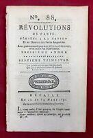 Terre Neuve Canada 1791 Louis 17 Dauphin Issy l'Eveque Saône Loire Gard Jalès