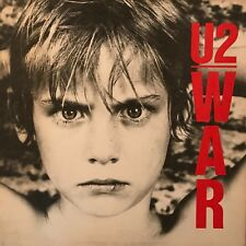"U2 ""War"" Vinyl LP - 1983 1st US Pressing with purple Island labels 90067-1 - EX"