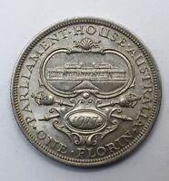 1927 Australia 1 One Florin - George V Parliament House - Lot 340