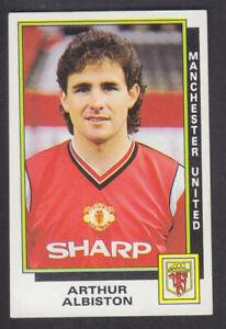 Panini - Football 86 - # 187 Arthur Albiston - Manchester United