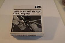 """New 500 grit  3M  ELEK-TRO-CUT Cloth Utility Shop Roll 1 1/2"""" x 50 Yd WR.12aA4-6"""