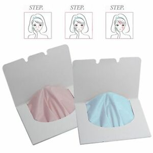 100 Sheets Oil Control Oil-Absorbing Blotting Facial Face Clean Paper_