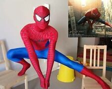 New Adult Size Full Body Spiderman New Catsuit mascot costume fast shipping