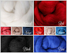 PATRIOTS Palette Wool Roving Fiber 2.5 oz. /70 gms. Needle Felting Spinning Soap
