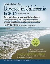 How to Do Your Own Divorce in California in 2015: An Essential Guide-ExLibrary