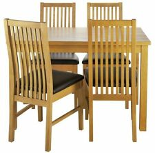 Oak Traditional Table & Chair Sets