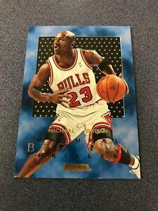 1995-96 Skybox E-XL Natural Born Thriller #1 MICHAEL JORDAN Chicago Bulls ~SJ4