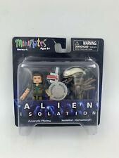 Alien Minimates Isolation - Series 4 - Amanda Ripley & Xenomorph Figure Set