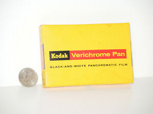 Kodak Verichrome Pan B&W Panchromatic Film Pack 6x9cm VP520 SEALED 1961 Dated