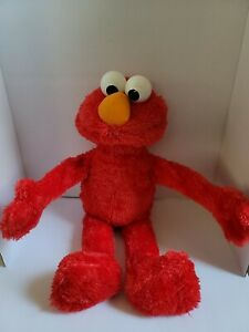 "Sesame Street 123 Big Hugs Elmo Plush Interactive Toy 22"" A4256 Playskool Hasbro"