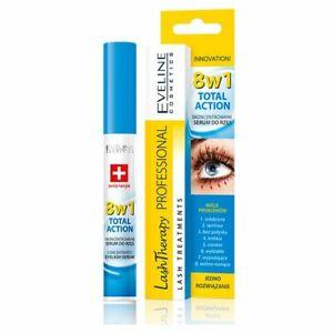 Eveline Cosmetics Sérum Multi Purpose Eyelash Total Action 8 en 1, 10 ml
