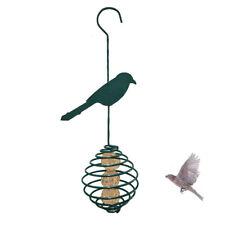 Spiral Bird Feeder Fat Food Dispenser Spiral Food Hanging Basket for Wild Birds