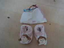 Babyschuhe Schutzengel Mädchen, rosa mit Rassel von Fürnis ++ Neu++