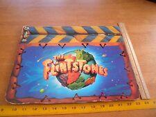 The Flintstones 1993 movie licensing advertising piece thick cardboard