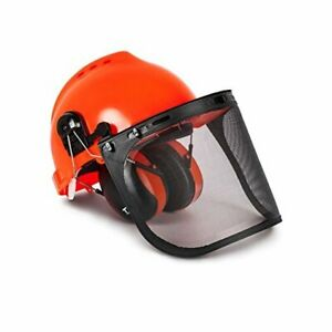TR88011 Hard Hat Forestry Safety Helmet & Ear Muffs Protection