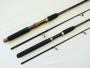 """Shakespeare 6'6"""" Ugly Stick and 5' Silstar Pinnacle Power Tip Med. Spinning Rods"""