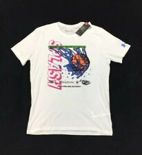 New Under Armour Stephen Curry 7 x Nerf Super Soaker White T Shirt Mens Size L