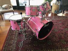 Pink Pearl ELX Drum Kit