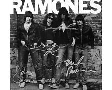 The Ramones SIGNED AUTOGRAPHED 10X8 REPRO PHOTO PRINT