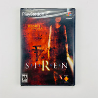 Siren - PlayStation 2 PS2 Sony Mature Horror Game 2003 NIB Factory Sealed NEW!