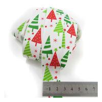CHRISTMAS GROSGRAIN RIBBON 10mm 16mm 25mm SANTA SNOWMAN FESTIVE CRAFTS GIFT WRAP