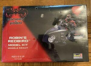 Batman & Robin: Robins RedBird 1:12 Revell Monogram Model Kit 1997 Sealed Mint