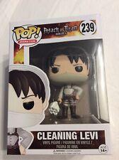 Cleaning Levi #239 - Attack On Titan - Funko Pop! Vinyl