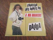 45 tours DALIDA chanteur des annees 80