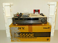 Sony EV-S550 Video 8 Videorecorder, OVP w.NEU / FB&BDA, 2 Jahre Garantie
