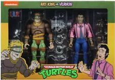 Neca TMNT Teenage Mutant Ninja Turtles Rat King and Vernon 2 Pack NEW
