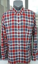 Tommy Hilfiger Custom Fit Long Sleeve Multicoloured Casual Checked Shirt Size L