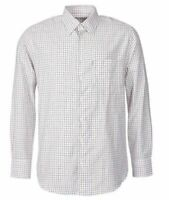 """Barbour """"Bulmer"""" Shirt Brick Red Check Long Sleeve Button Up Classic UK-L / US-M"""